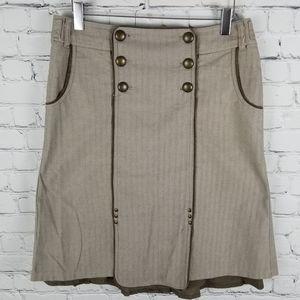 MEXX   midi button detail lined skirt